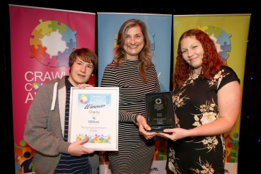 Charity Winners 2016 - The Springboard Project. Photo by Derek Martin