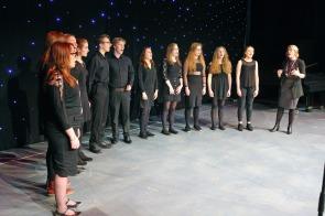 DM17311556a.jpg. Crawley Community Awards, 2017. West Sussex Youth Choir. Photo by Derek Martin