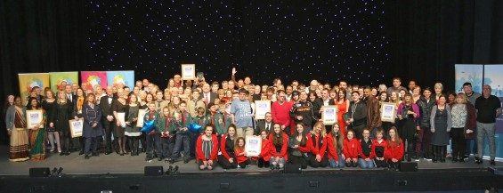 DM17311626a.jpg. Crawley Community Awards, 2017. Photo by Derek Martin